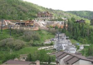 New Construction in Ski Trails