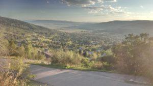 View of Running Bear neighborhood in Steamboat Springs