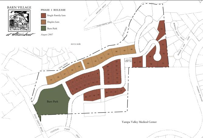 Barn Village Site Plan