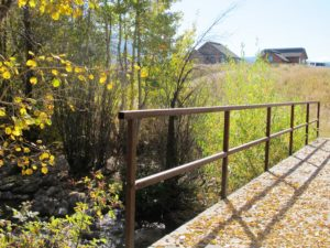 Barn Village walking trail system