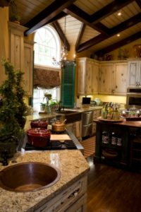steamboat springs luxury home kitchen