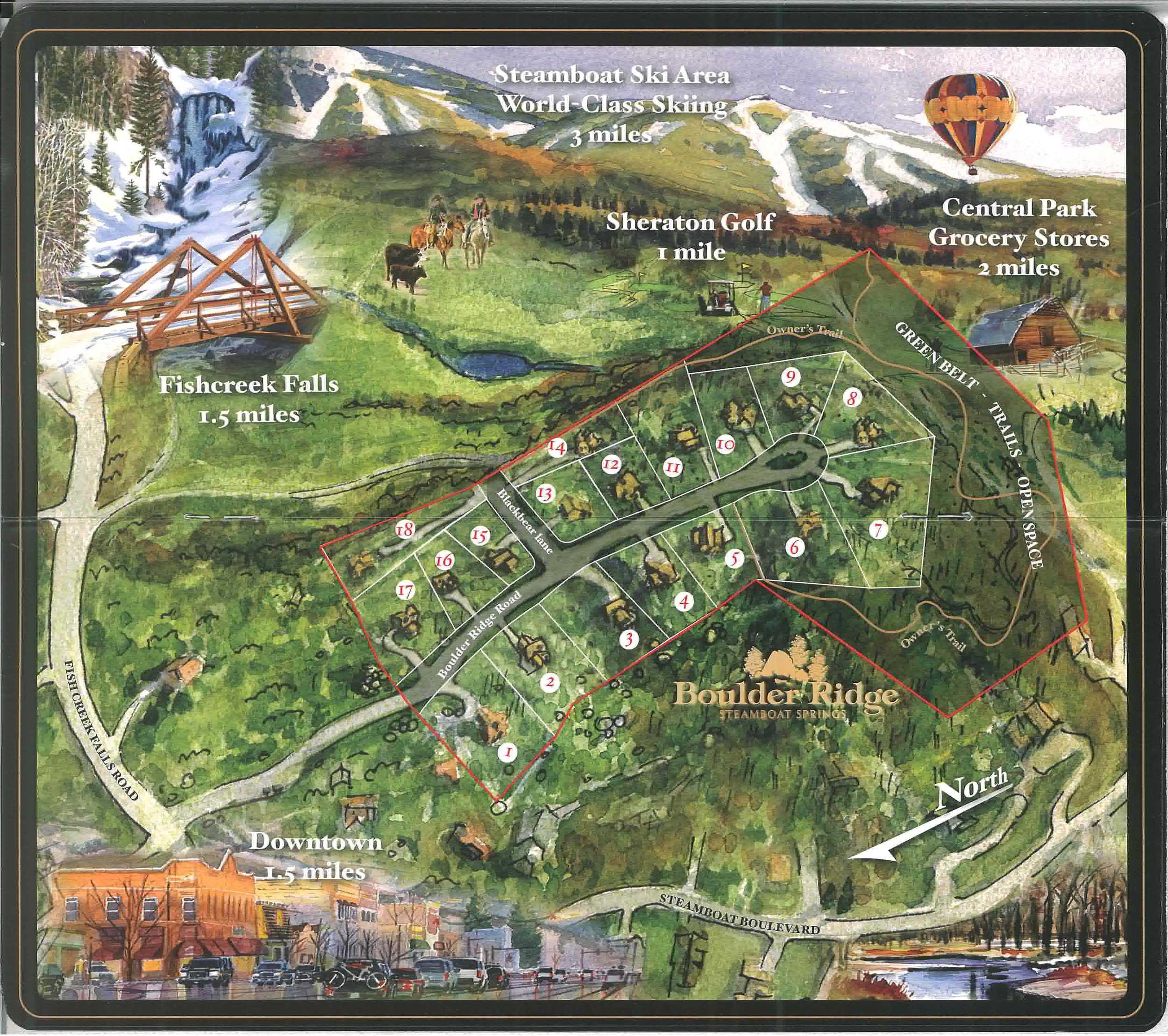 Boulder Ridge In Steamboat Springs Steamboat Springs
