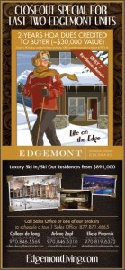 Edgemont Close Out Special